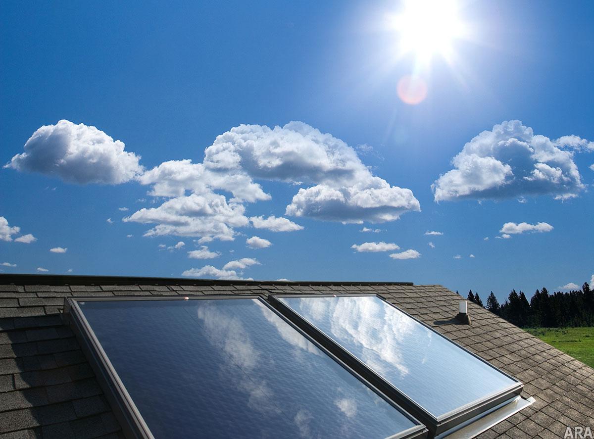Ориентация и угол наклона солнечных коллекторов