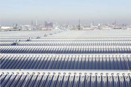 Солнечные коллекторы на Энергобункере