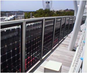 применение солнечной батареи