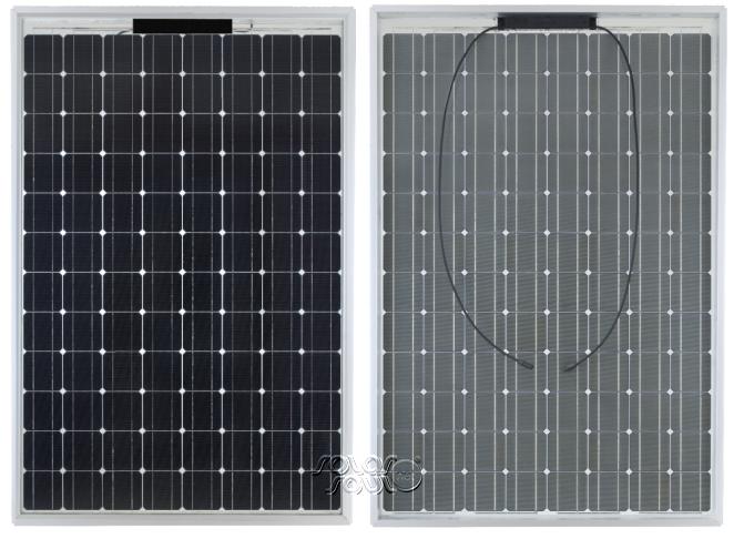 стороны солнечной батареи