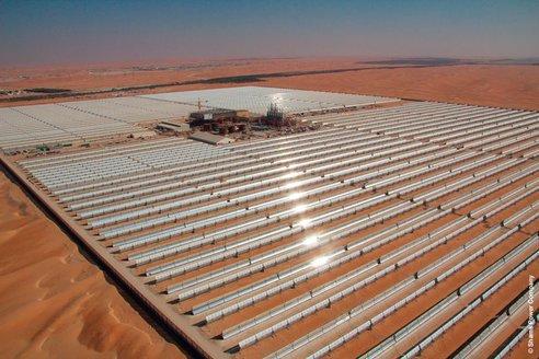shams-1- самая крупная тепловая электростанция