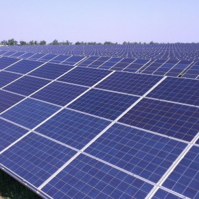 Новая солнечная электростанция в Крыму: фотоотчет