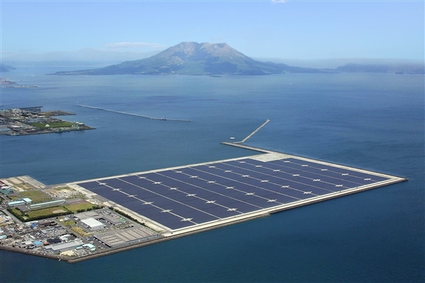 офшорная солнечная электростанция