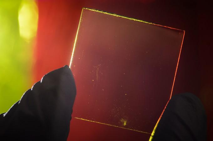 прозрачный концентратор солнечной энергии