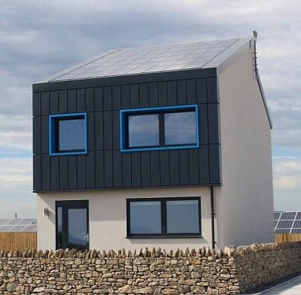 В Великобритании построен «дом-электростанция»