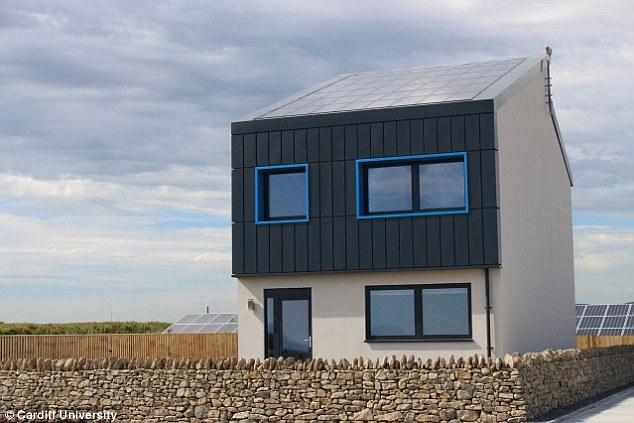 Энергоактивный дом способный генерировать больше энергии в сеть, чем потреблять на собственные нужды