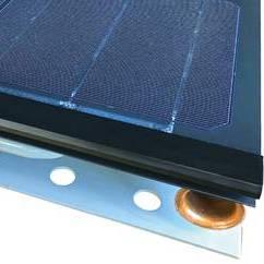 Гибридный солнечный коллектор для теплового насоса