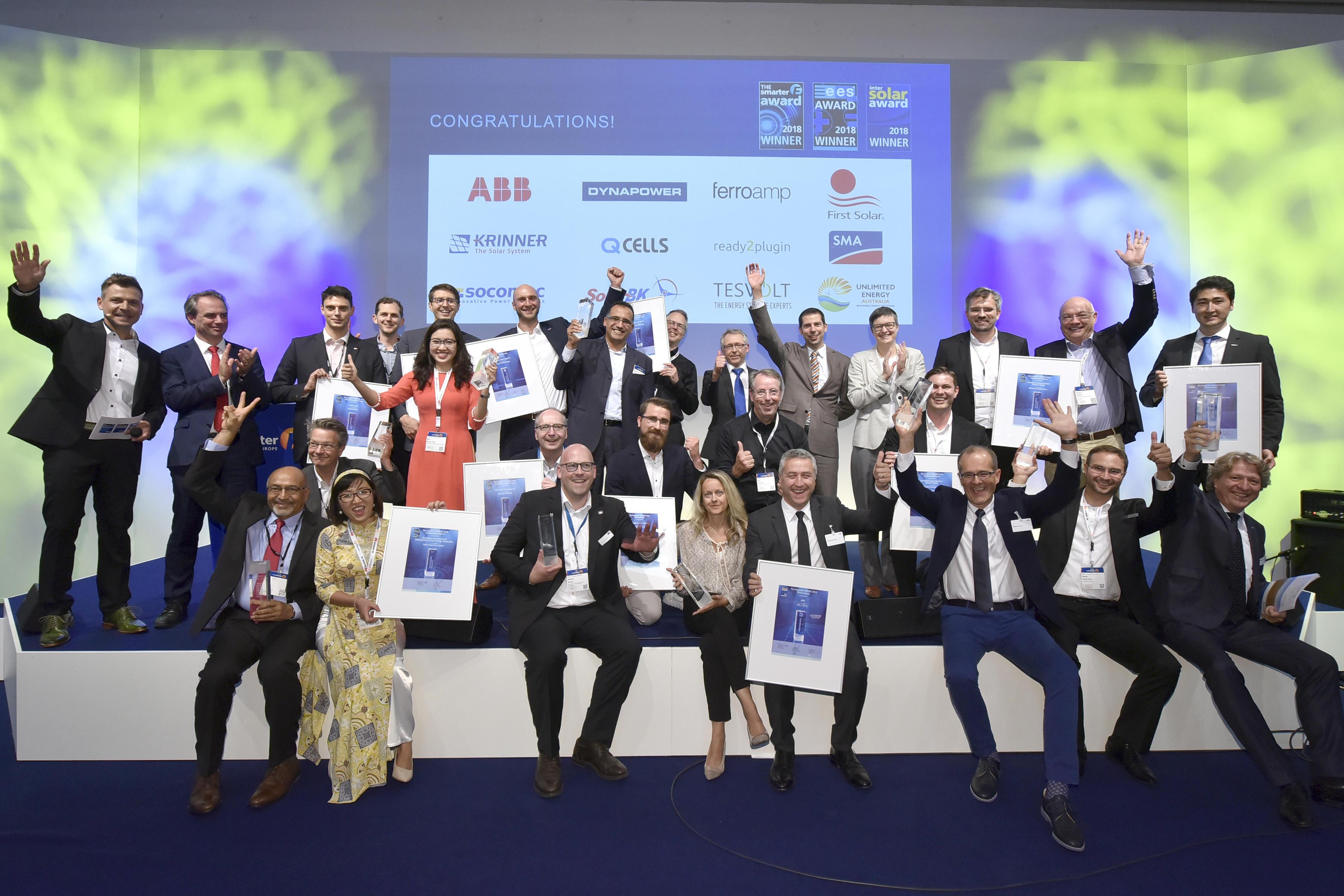 Победители Intersolar AWARDS-2018