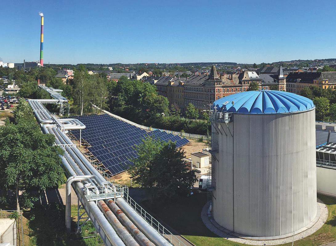 Германия наращивает мощности станций солнечного теплоснабжения